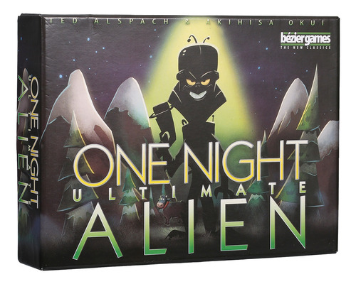 One Night Ultimate Alien Card Games 10 Minutos Fast Table