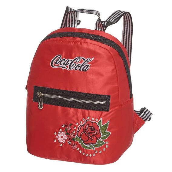 Mini Mochila Coca Cola Vintage Rose Pacific