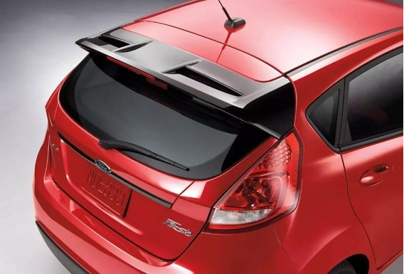 Aerofólio New Fiesta Hatch Led + Kit Instalação Houer St