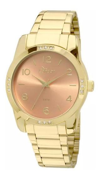 Relógio Feminino Condor Original Co2035koe/4l Dourado C/ N F