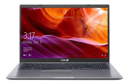 "Imagen 1 de 7 de Laptop Asus X509MA gris 15.6"", Intel Celeron N4000  4GB de RAM 500GB HDD, Intel UHD Graphics 600 1366x768px Windows 10 Home"