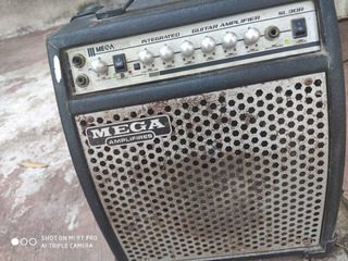 Oferta Amplificador Guitarra Integrado Megatone Envío Gratis