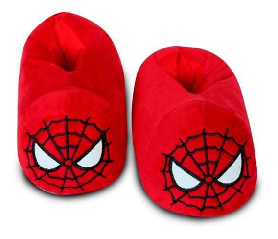 Babuchas Spider Man Alta Calidad Todas Las Tallas