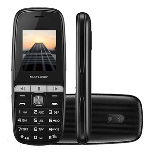 Celular Multilaser Up Play 2 Chip Lanterna Números Grandes