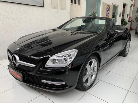 Mercedes-benz Slk 250 1.8 Cgi 2012 Turbo Gasolina Preta