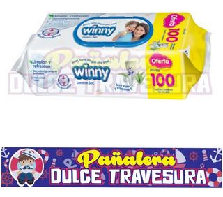 Pañito Winny X300 - 3 Paquetes - Unidad a $88