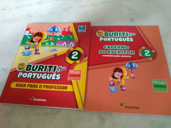 Buriti Plus Portugues 2 Com Caderno Do Escritor Prof. Semcd