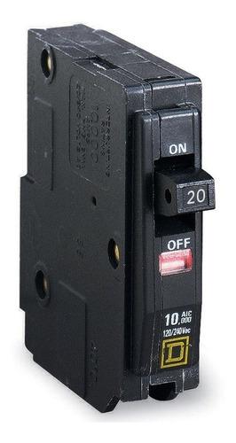 Imagen 1 de 8 de Pastilla Interruptor Termomagnético 1p20a Qo120 Schneider