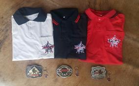 Kit 3 Fivelas Pbr E 3 Camisas Pbr Mega Promoção So Ate Hoje
