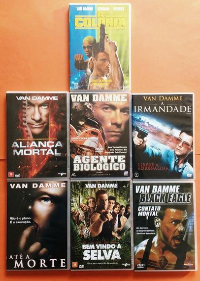Dvd Van Damme Coleção Contendo 35 Filmes - Desafio Mortal +