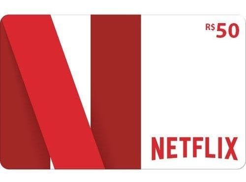Netflix Gift Card 50r$