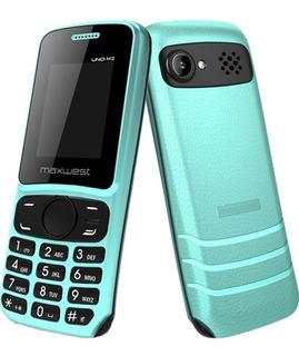 Celular Maxwest Uno M2, 1.8 Bluetooth 2g Sd - Azul