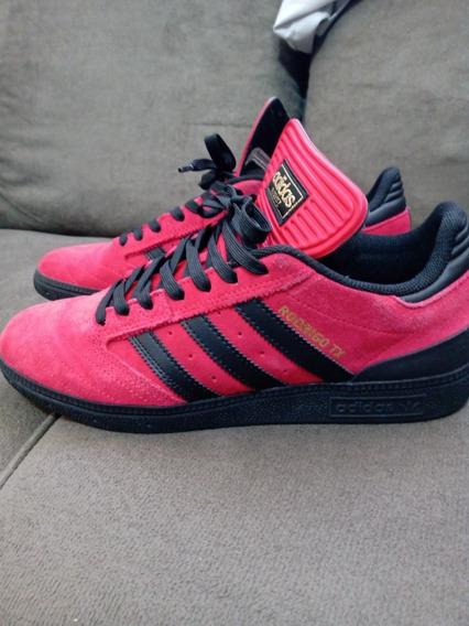 Tênis adidas Busenitz X Rodrigo Tx Vermelho