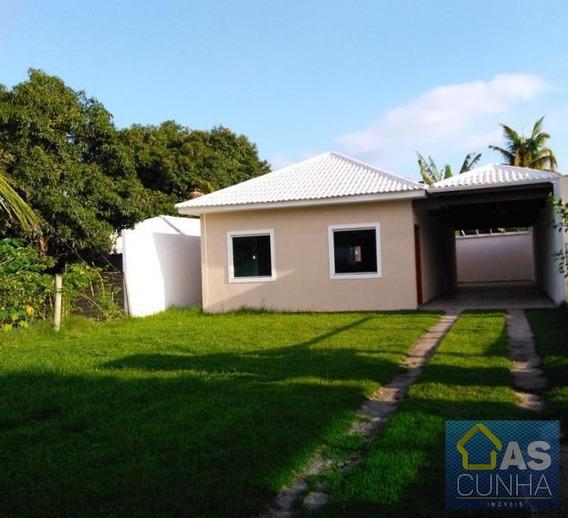 Casa Para Locação Em Araruama, Praia Do Hospício, 2 Dormitórios, 1 Suíte, 1 Banheiro - 0219