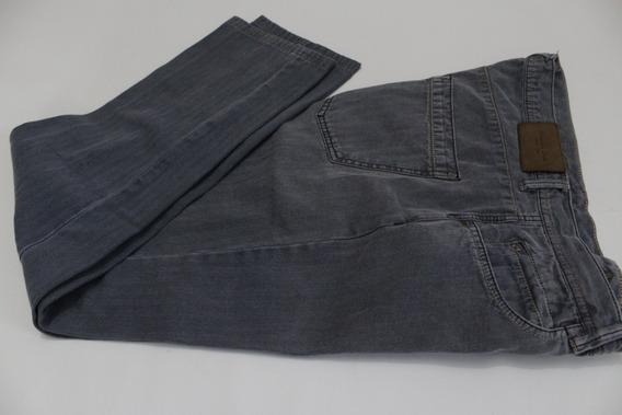 Pantalón De Gabardina Poco Entubado Massimo Dutti Talla 38