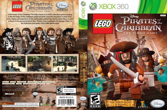 Lego Piratas Do Caribe - Original Xbox 360 - Nov