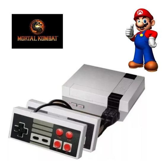 Mini Vídeo Game Retro Com 620 Jogos Super Nintendo 2controle