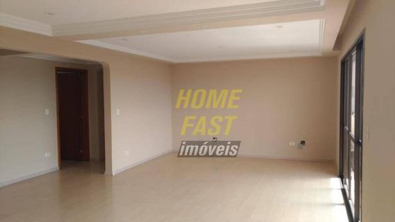 Apartamento Com 4 Dormitórios Para Alugar, 189 M² Por R$ 3.000/mês - Bosque Maia - Guarulhos/sp - Ap1337