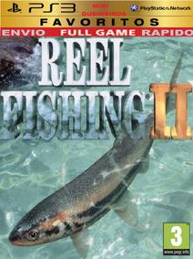 Ps3 Reel Fishing Pescaria 2 Vara De Pesca Molinete Pesca