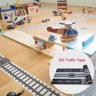 Autopista Vía Calle Adhesiva P/piso 5m Niños