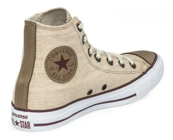 Botitas Converse All Star Lino Natural