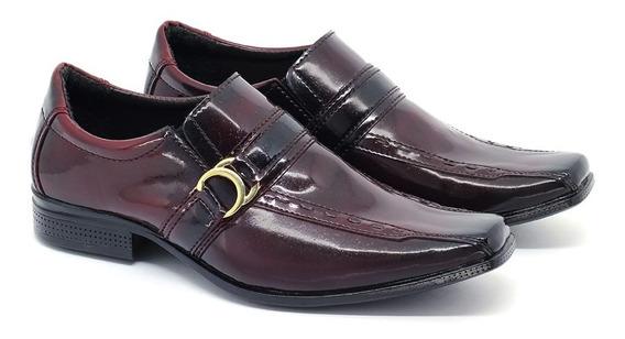 Sapato Social Masculino De Luxo Leoppe Confort