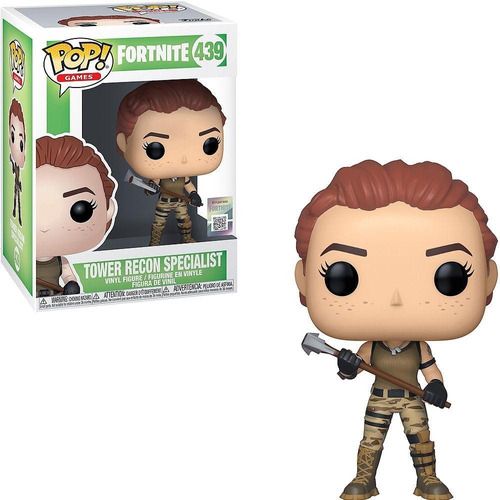 Funko Pop Fortnite Tower Recon Specialist #439