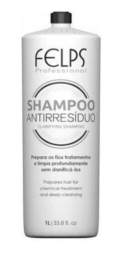 Imagen 1 de 5 de Shampoo Limpieza Profunda Felps Profesional 1 Lt