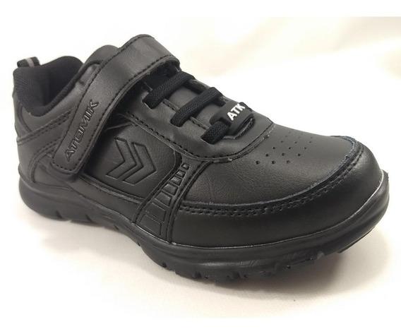 Chalk Colegial Zapatilla Velcro