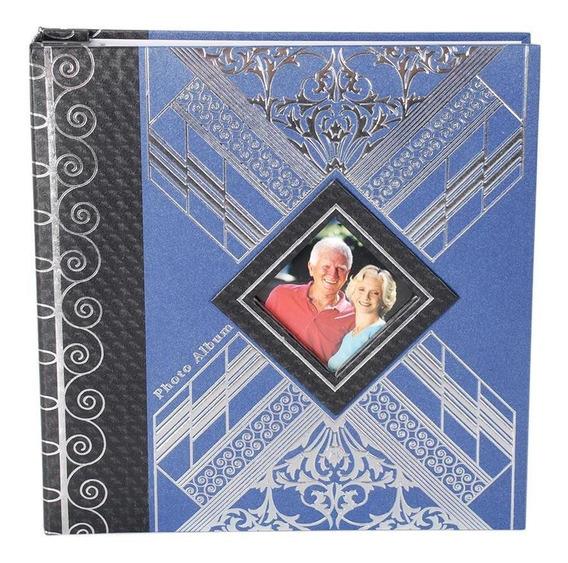 Álbum 100 Fotos 15x20cm Pb-436 Azul