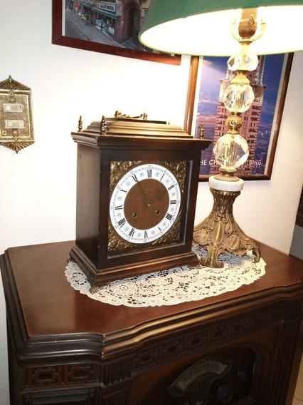 Reloj De Cuerda Chimenea Alemán Kienzle Antiguo
