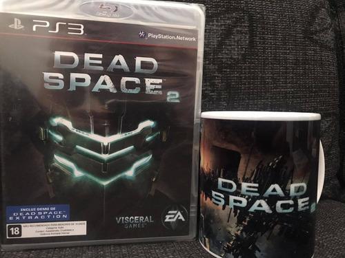 Jogo Dead Space 2 Ps3 Lacrado + Caneca 325 Ml