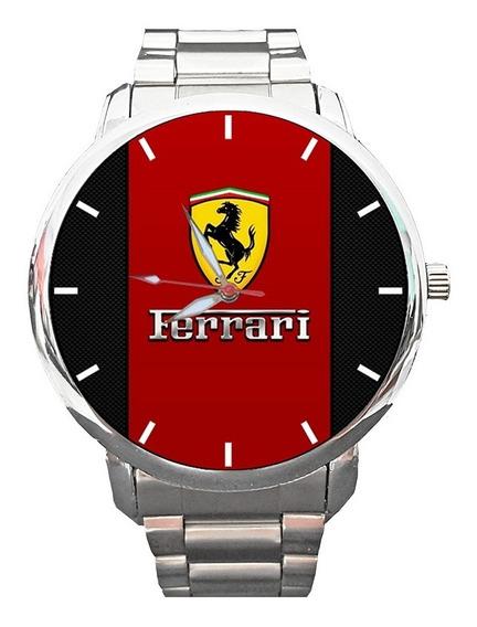 Kit 2 Peças - Relógio Ferrari 001