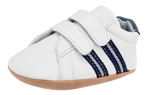 Tenis Tenis Little-steps 12814 Niño Bebe Color Blanco Cov19