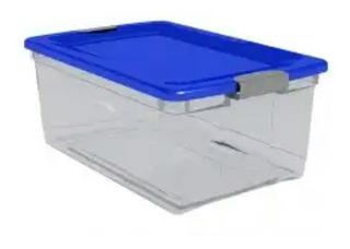 Caja Organizadora De Plástico 65 Litros.