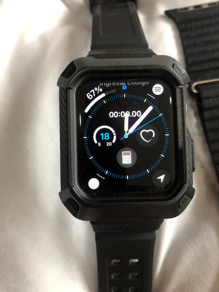 Applewatch Serie 4 , De 44mm, Negro - ¡como Nuevo!