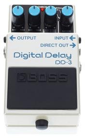 Pedal Boss Digital Delay Dd-3 Efeito Guitarra Dd3