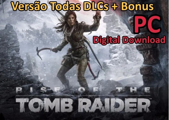 Rise Of The Tomb Raider -deluxe Edition -pc - Envio Imediato