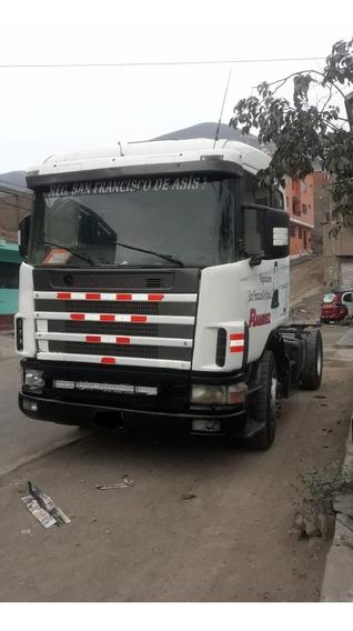 Tracto Scania R124 Remolcador