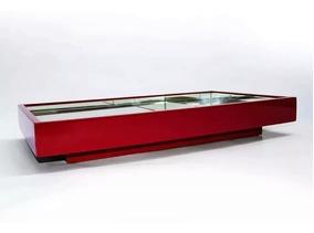 Bandeja Espelhada Decorativa Flutuante Vermelha. Promoção!!!