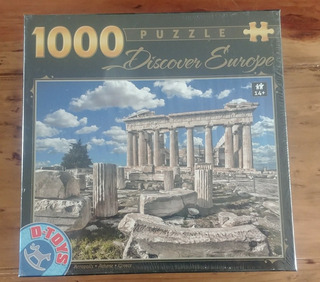 Rompecabezas 1000 Piezas Discover Europe