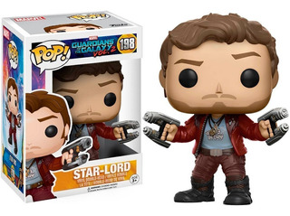 Funko Pop Star Lord Guardianes De La Galaxia Distrib. Lv