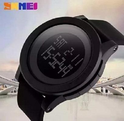 Relógio Masculino Digital Skmei Resistente Preto 1142 Top