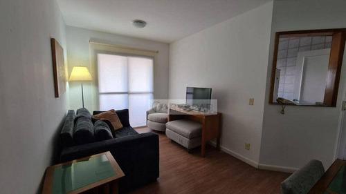 Imagem 1 de 30 de Flat Residencial Para Locação 2 Suítes, Brooklin, São Paulo. - Fl3707