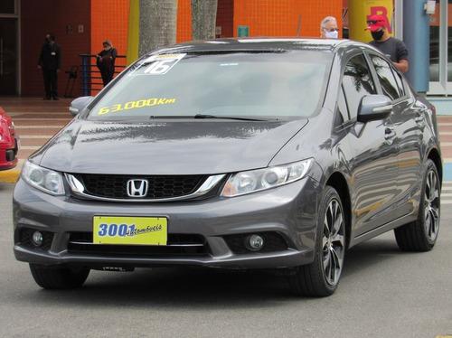 Imagem 1 de 15 de Honda Civic 2.0 Lxr 16v