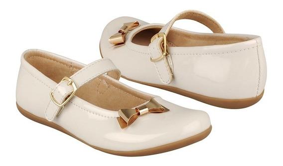 Zapatos Casuales Calzado Chabelo 8666-1-c 18-21 Charol Beige