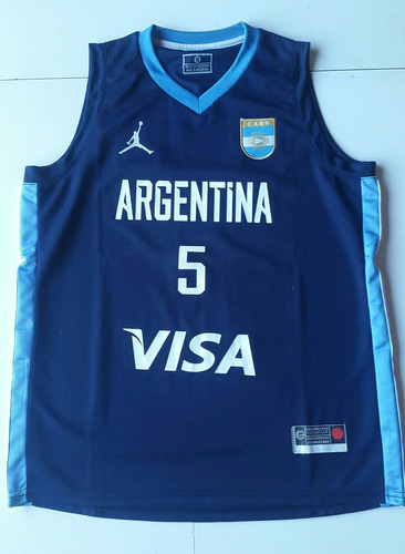 Camiseta Seleccion Argentina De Basquet Ginobili