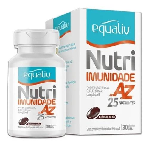 Equaliv Nutri Imunidade De A-z 25 Nutrientes 30 Cap