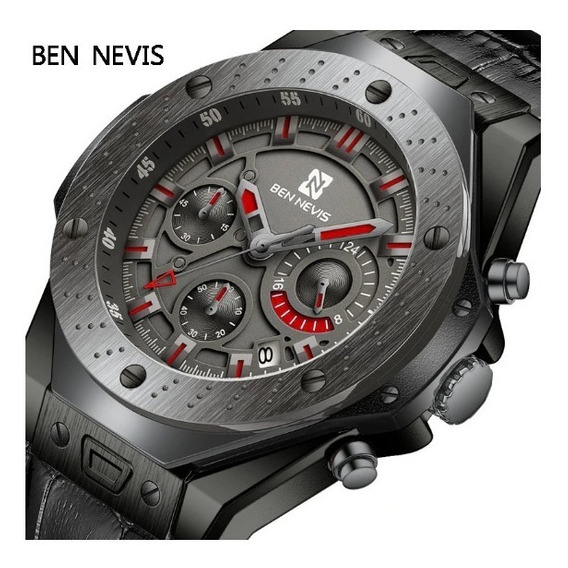 Relógio Ben Nevis Luxe Original Masculino Prova D