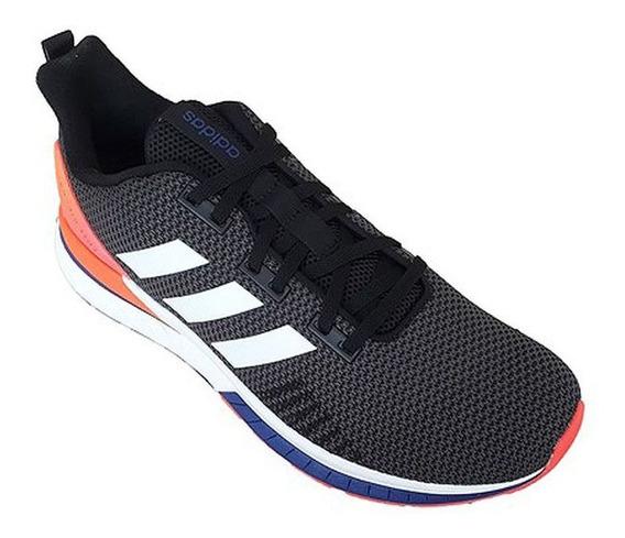 Tênis adidas Questar Tnd - Masculino - Preto/laranja